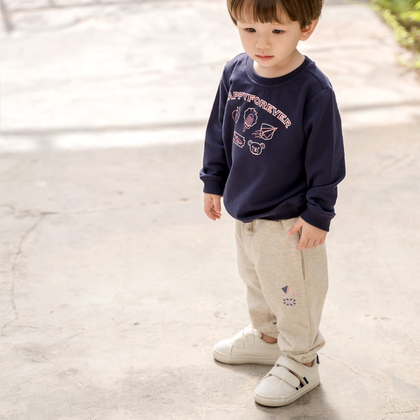 Sweatpants with Embroidery for Infant