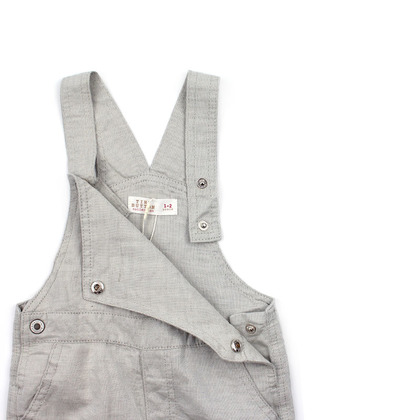 Dungaree with Embroidery for Toddler
