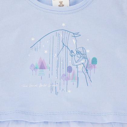 Frozen II © DISNEY Jersey Top with Tulle Detail for Kids