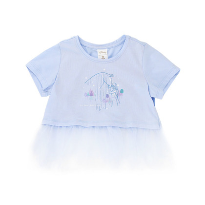 Frozen II © DISNEY Jersey Top with Tulle Detail for Toddler