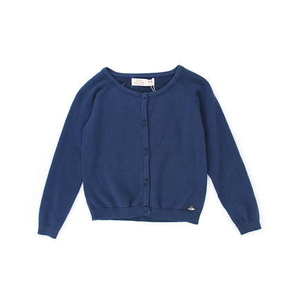 Navy Knit Cardigan for Infant