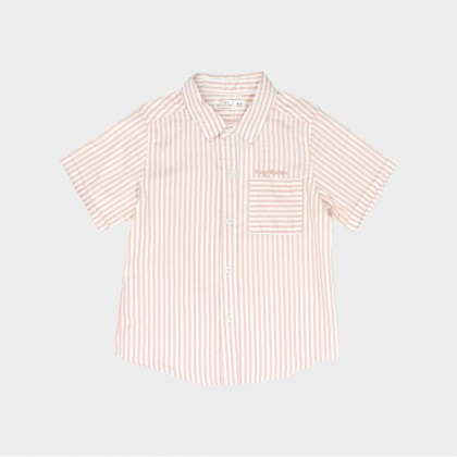 Embroidered Stripes Shirt