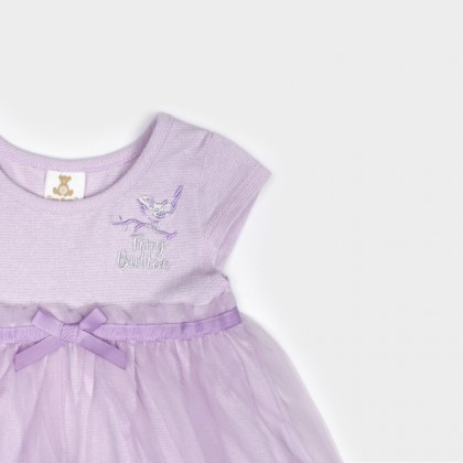 Lilac Tulle Dress